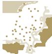 Kaartje van Nederland