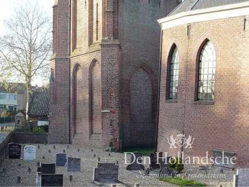 Grafmonument Acquoy Nederlands Hervormd Begraafplaats Acquoy