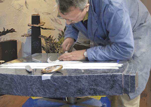 grafsteen uitzoeken - hulp bij samenstellen