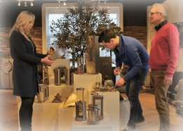 informatie over grafstenen orienteren in onze showroom