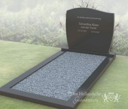 Grafmonument golfkop model