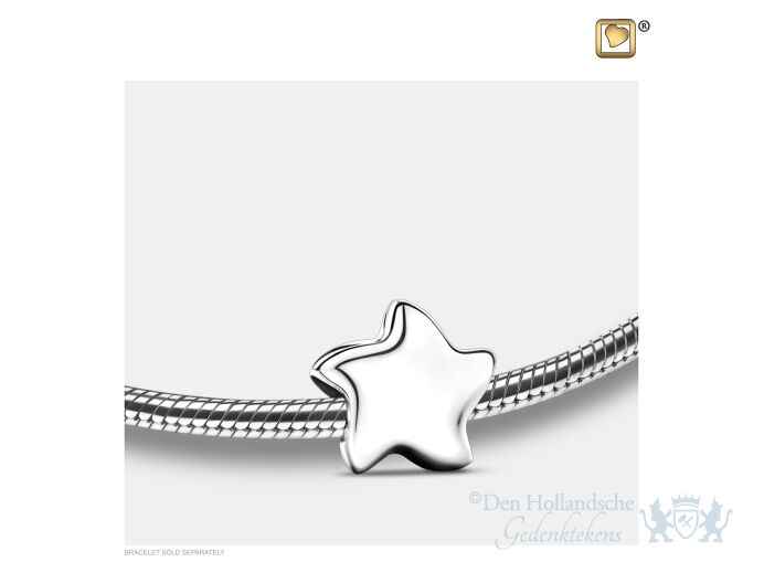 Angelic Star Ashes Bead Pol Silver foto 1
