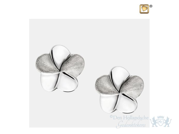 Bloom Stud Earrings Pol and Bru Silver foto 1
