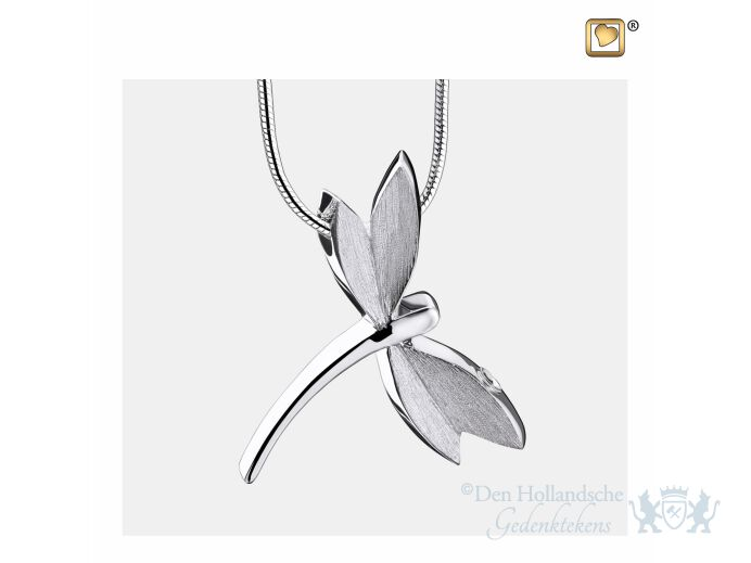 DragonFly Ashes Pendant Pol and Bru Silver foto 1