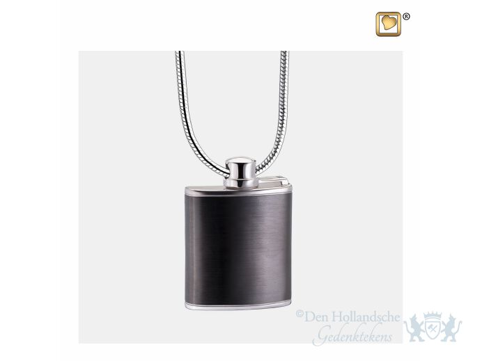 Flask Ashes Pendant Pol and Bru Ruthenium foto 1
