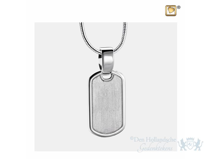 LoveTag Ashes Pendant Pol and Bru Silver foto 1