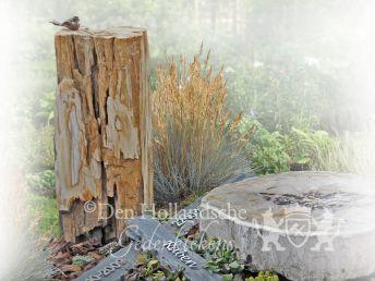 Grafsteen Natuurbegraafplaats