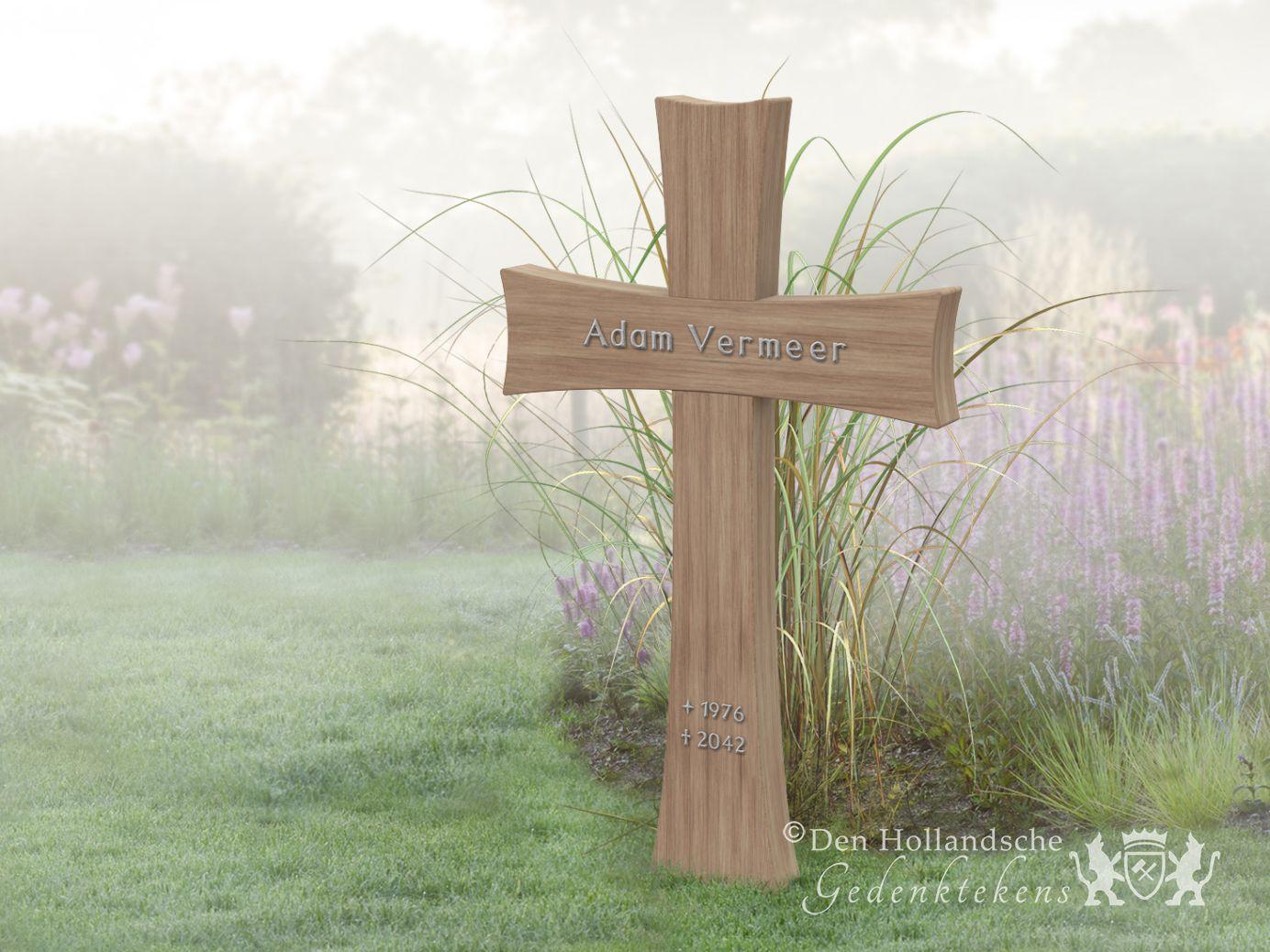Fonkelnieuw Houten kruis als grafmonument | Den Hollandsche Gedenktekens | 33032 SM-05
