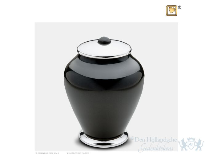 Simplicity Medium Urn Midnight and Pol Silver foto 1