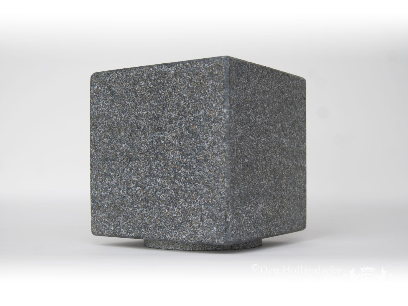 Atos urn natuursteen mystica grey den hollandsche gedenktekens