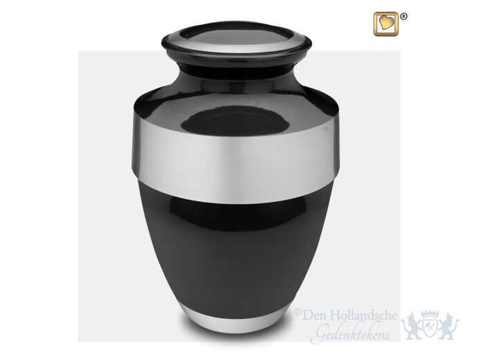 Espana Adult Urn Midnight and Bru Pewter foto 1