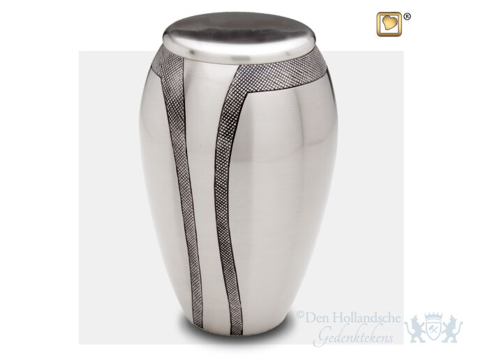 Majestic Stripes Adult Urn Bru Pewter foto 1