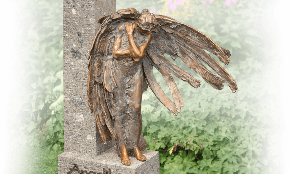 Tuinbeelden Brons Tuin : Urnmonument in eigen tuin den hollandsche gedenktekens
